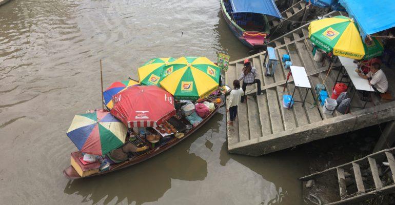 ที่พักอัมพวา ริมน้ำ บ้านสวนนวลตา พาเที่ยวตลาดน้ำอัมพวา 2020 5 (10)